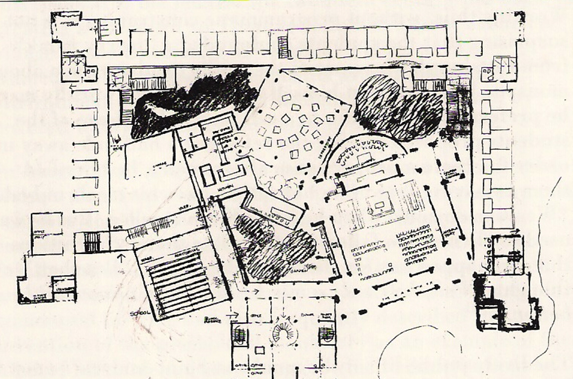 Louis Kahn Sketches 1968 | Someone Has Built It Before