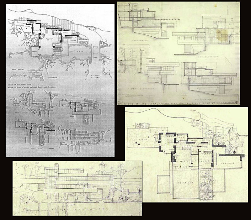 Frank loyd wright someone has built it before for Frank lloyd wright floor plan
