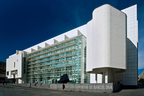 Museum Of Contemporary Art Barcelona Someone Has Built Interiors Inside Ideas Interiors design about Everything [magnanprojects.com]