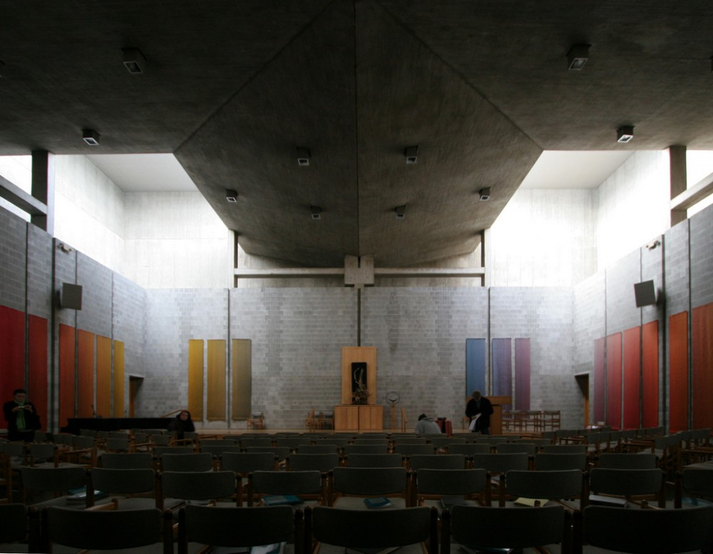 First unitarian church someone has built it before for Louis kahn buildings