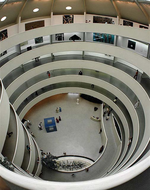 Guggenheim museum ny someone has built it before for Architecture interieur pdf