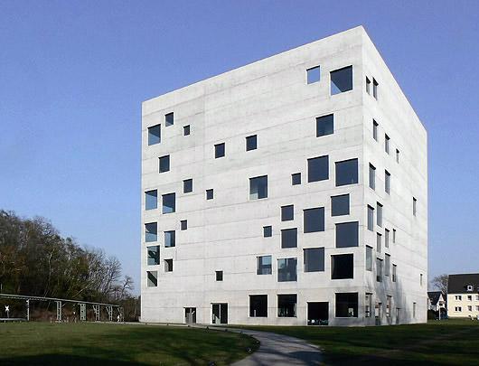 Sanaa not so conscious inspiration someone has built for Essen design hotel