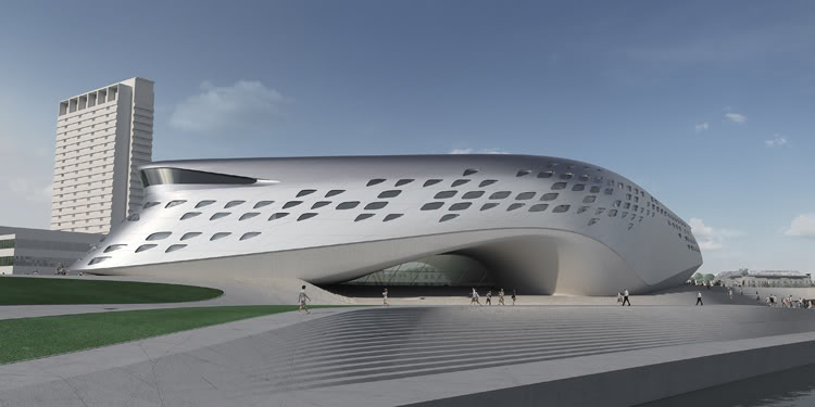 Zaha Hadid S Inspiration Sources Someone Has Built It Before
