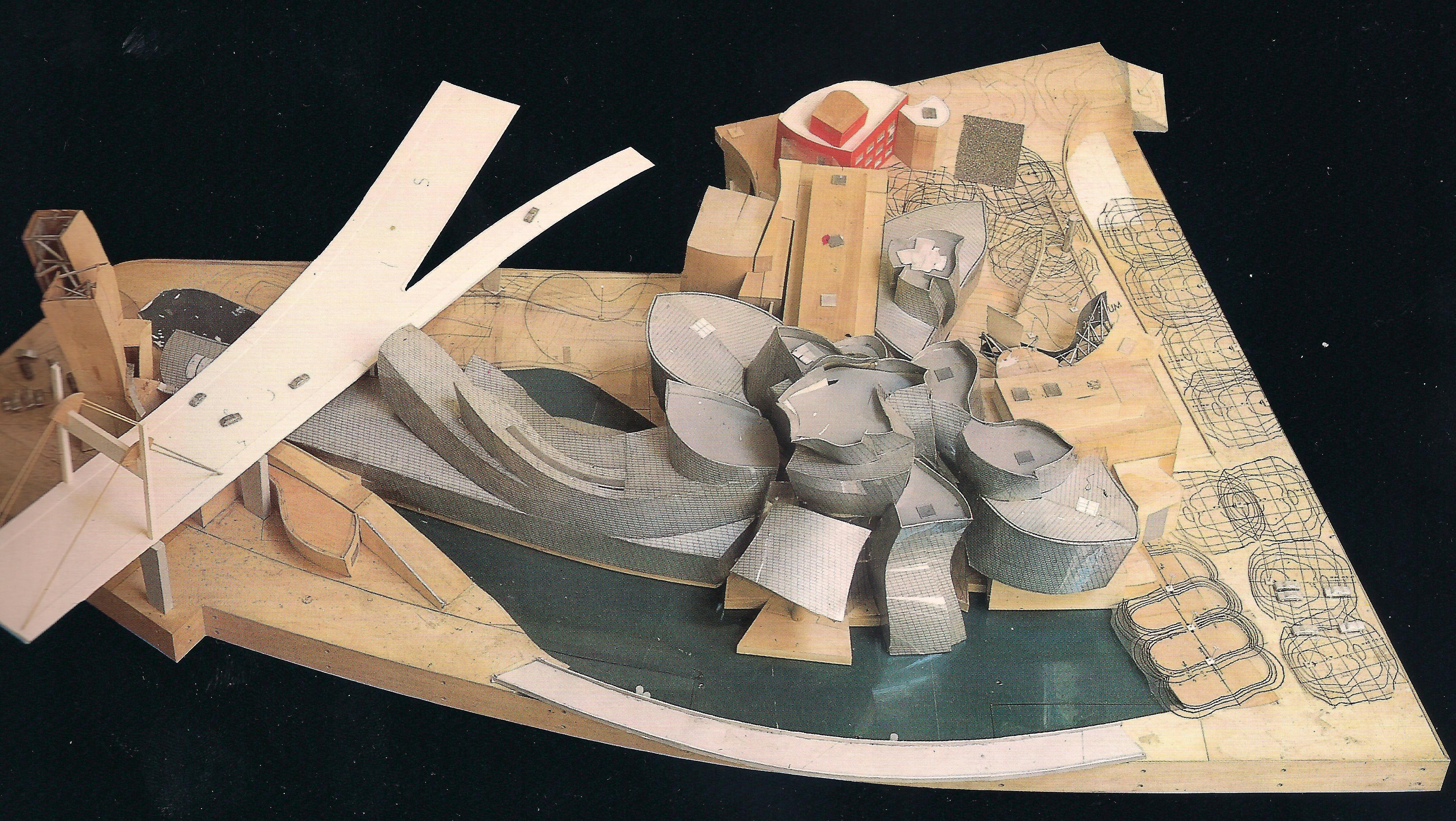 Guggenheim Museum In Bilbao Someone Has Built It Before