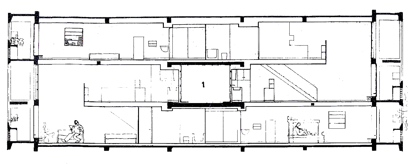 Unite d habitation someone has built it before for Habitations home plans