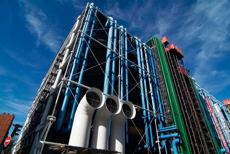 Richard rogers architect and architect piano pompidou - Centre george pompidou architecture ...