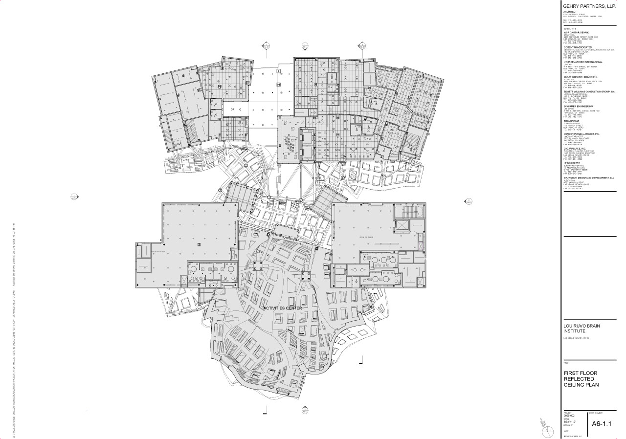 Learning from frank gehry chapter 5 dealing with for South cathedral mansions floor plans
