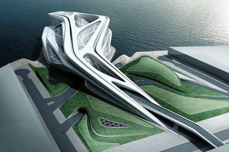 Zaha Hadid Style contemporary organic style | someone has built it before