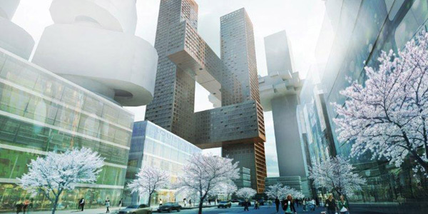 Rem koolhaas they were all my sons bjarke ingels group for Big architecte