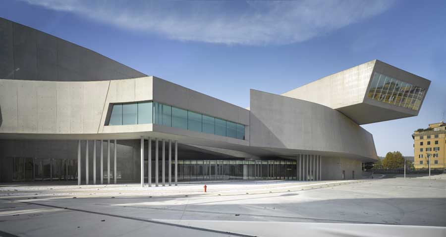 maxxi museum someone has built it before
