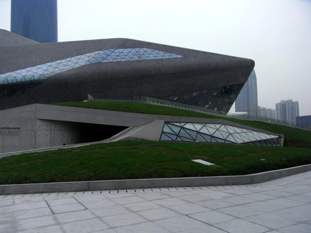 zaha hadid architecte guangzhou opera house. Black Bedroom Furniture Sets. Home Design Ideas