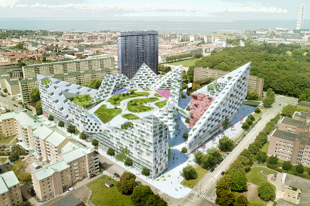 Big bjarke ingels s group mountain strategy or the for Big bjarke ingels group