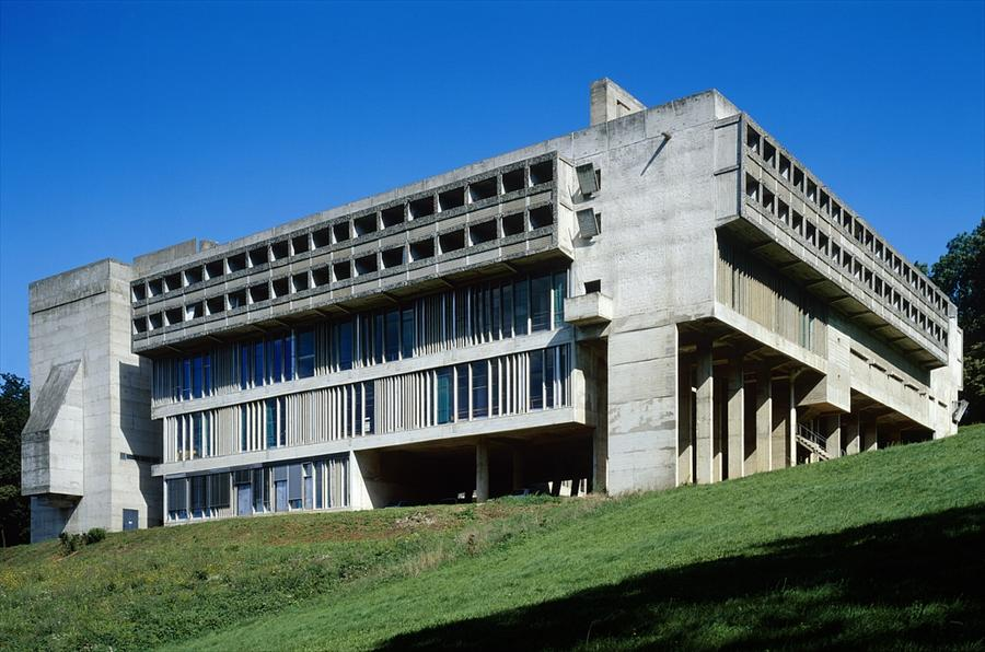 Le corbusier la tourette monastery lyon france 1953 1957 for La architecture