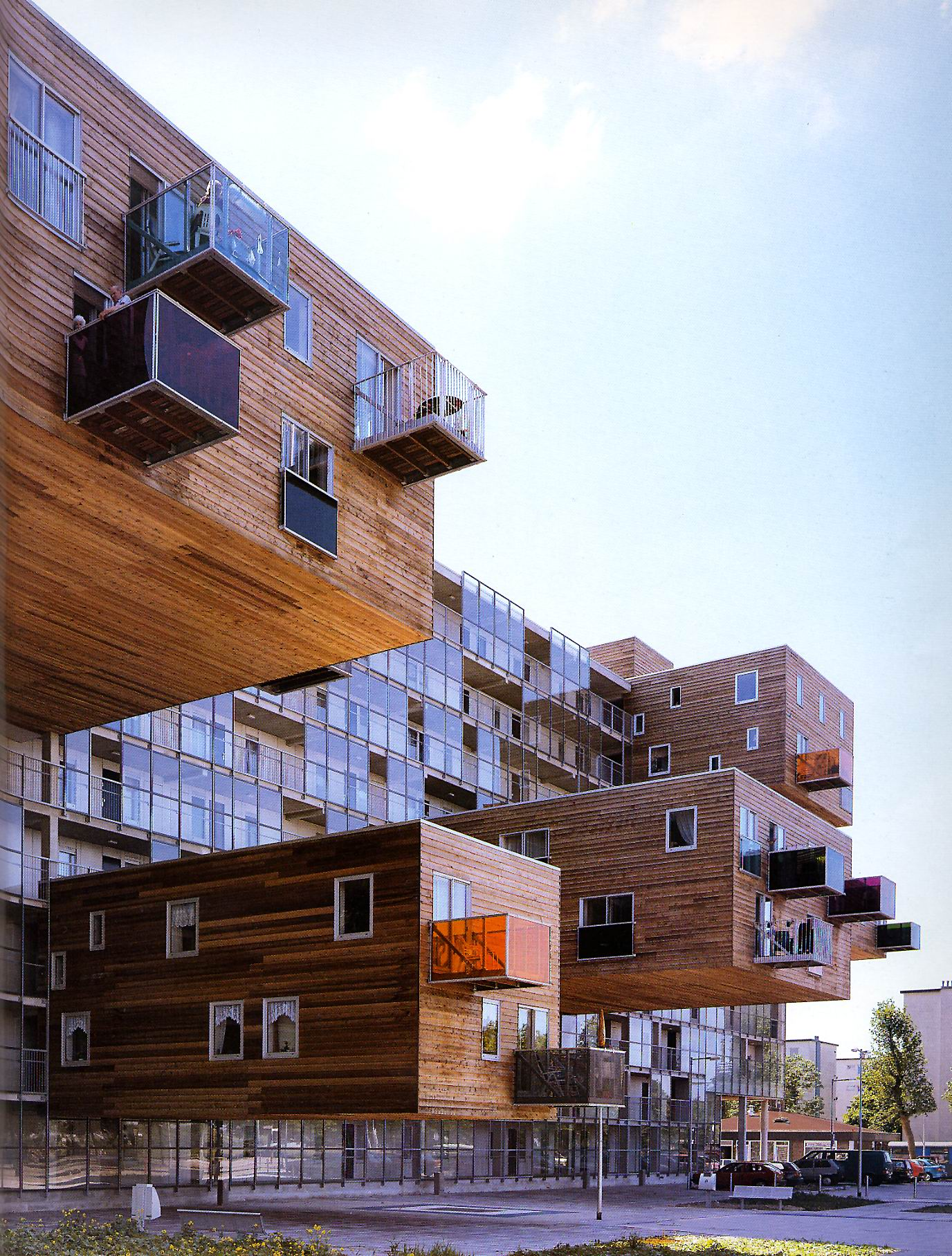 Atelier thomas pucher someone has built it before for Handicapped housing