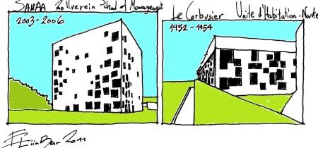 Le Corbusier Nantes : unit d habitation rez nantes someone has built it before ~ Nature-et-papiers.com Idées de Décoration