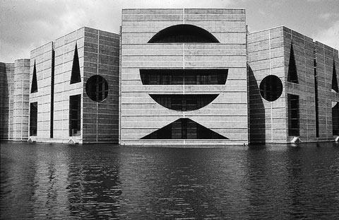 Mario botta someone has built it before for Louis kahn buildings