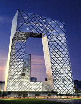 OMA\ Rem Koolhaas Architects Central Chinese TV Building  Beijing – 2008