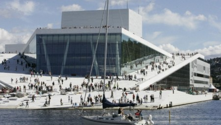 Snohetta Architects Oslo Opera House Norway 2003-2007