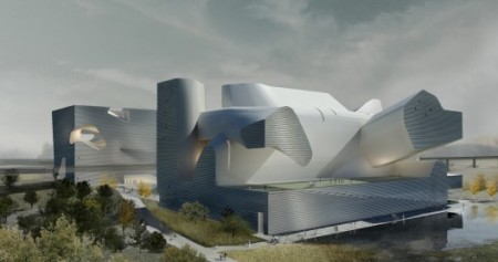 Steven Holl Architects: Tianjin Ecocity Ecology and Planning Museums., China published in 2012