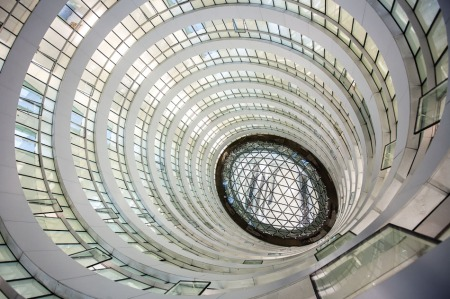 Zaha Hadid's Architects Galaxy Soho Beijing China interior  2012