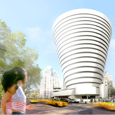 Oiio Reveals Proposal for  Frank Lloyd Wright's    Guggenheim Museum   Expansion 2013