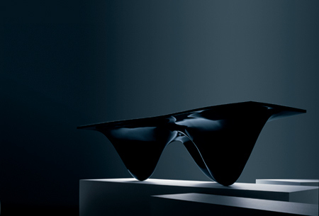 Zaha Hadid's Aqua table from 2008
