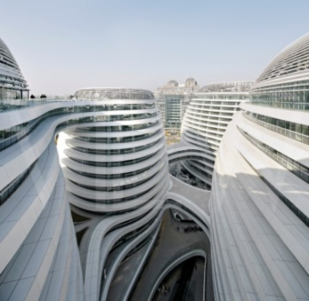 Zaha Hadid's Architects Galaxy Soho