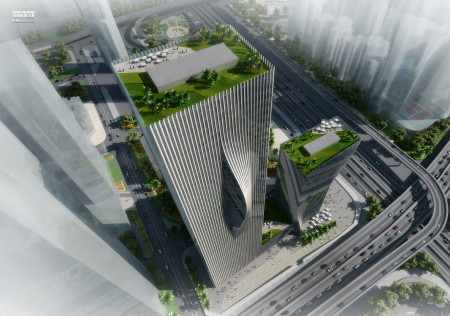 Bjarke Ingels Architect (BIG) Shenzhen International Energy Mansion first prize in the international competition 2009