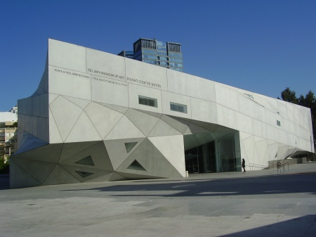 Preston Scott Cohen architect Tel Aviv Museum 2003-2010
