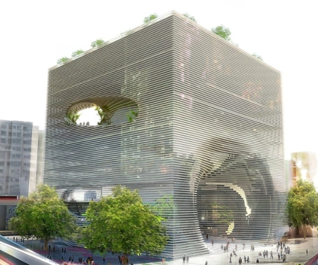 BIG Architects  Ted Building _ Taiwan _ Competition 2010
