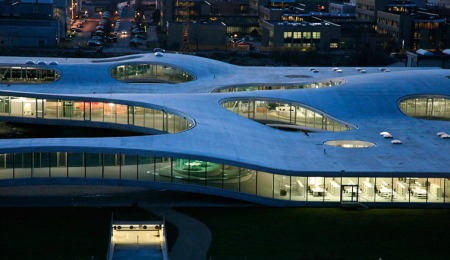 Rolex Learning Center by SANAA Architects