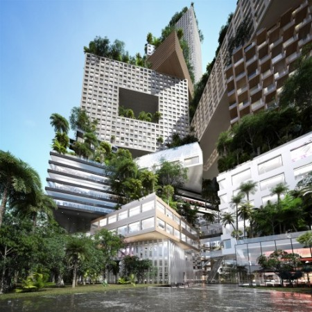MVRDV Architects vertical city, Jakarta, Indonesia Published 2012