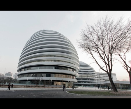 Zaha Hadid Architects Galaxy Soho Beijing China 2012