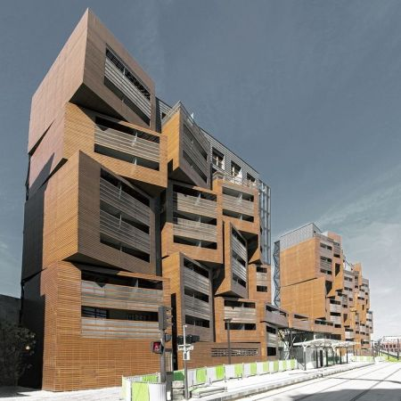 OFIS architects     Basket Apartments OFIS architects   2012   Paris, France