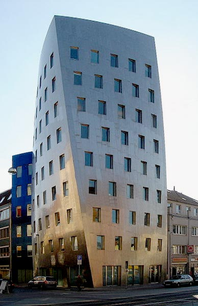 Frank O. Gehry's building in Hanover Germany  from  1999-2001