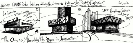 "From Eliinbar's sketchbook 2013- OMA   Stok exchange in shenzen the ultimate ""Specific Inspiration"""