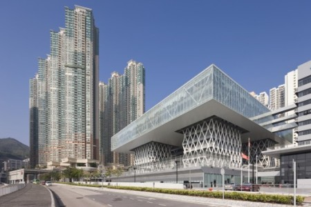 Hong Kong Institute of Design .designed by CAAU