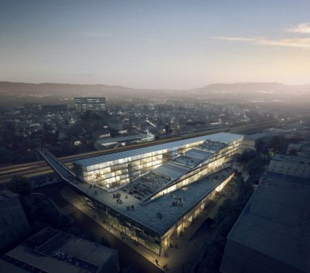 Kengo Kuma and Associates SUPSI Campus,published in ARCHDAILY  In 20.3.2013