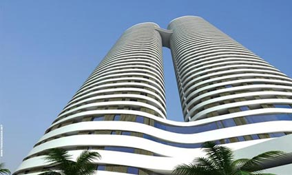 Architectural firm Yassky, Moore ,Sivan Inbal Or's Project Arlozorov Towers Tel Aviv 2011