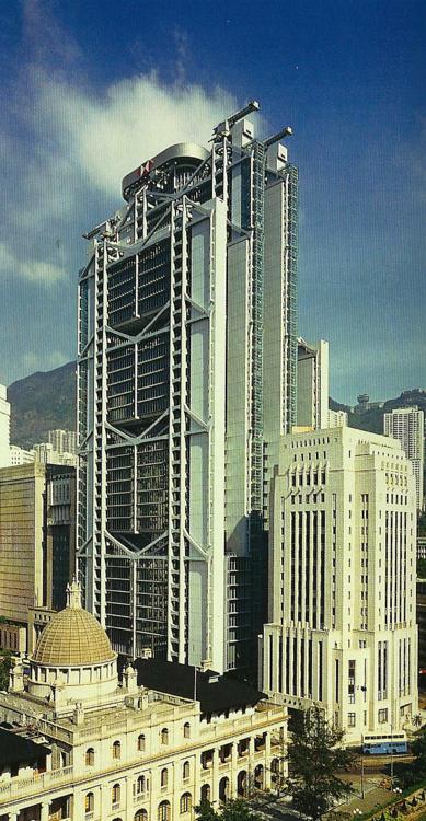 Norman Foster Architect Hongkong and Shanghai Bank, Hong Kong, 1986
