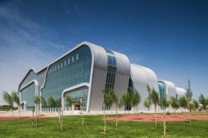 Zhongwei Cultural Complex designd by hpa in 2009