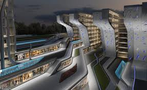 Zaha Hadid Stone Towers