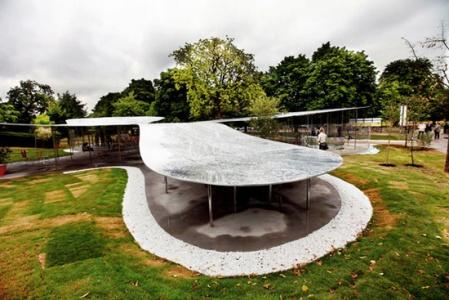 SANAA  Architects serpentine gallery pavilion 2009