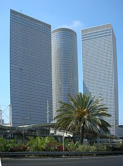 Asrieli center – tel aviv – israel- Asrieli David ,Atia eli and Yasky architects-1999-2007