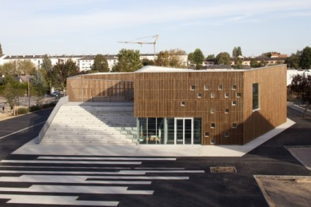 Ateliers O-S architectes Cultural Center in Nevers, France 2012
