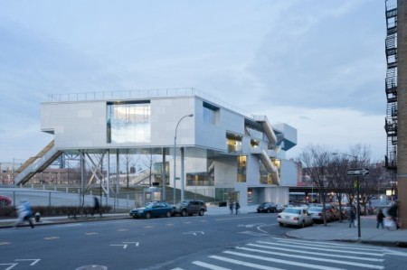Steven Holl Architects Campbell Sports Center Columbia University, New York, NY, USA 2013