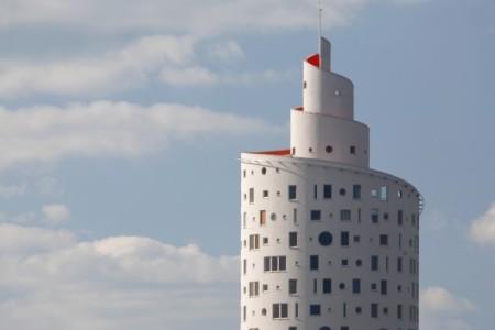 Snailtower typical façade