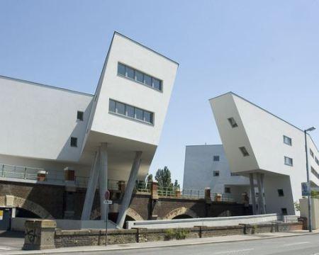 Zaha Hadid Architect  Spittelau  Vienna  Austria 2003-2005