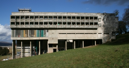 Le Corbusier's  La Tourette Monastery from 1953-1960
