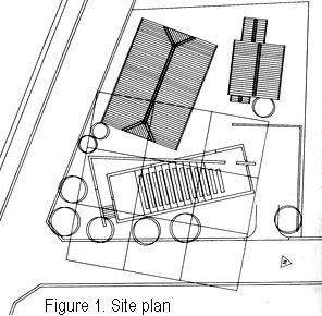 church of the light site plan